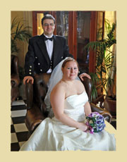 your wedding photographs, by Tog Porter of Wigwam Photography, Barrhill, Scotland