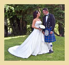 get your wedding memories from the Wigwam wedding photographer - Ayrshire Scotland