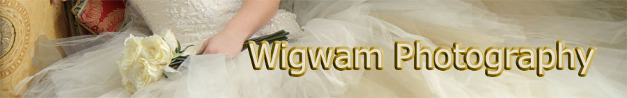 Wigwam wedding photography in Ayrshire Scotland - header and logo